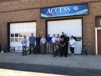Access Ministry Sign Donation